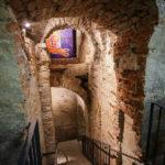 Kellerabgang im Kipferlhaus in Wien