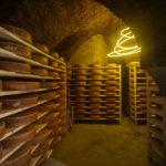 Käsekammer im Keller des Kipferlhauses in Wien