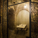 Lounge der WineBANK im Keller des Kipferlhauses in Wien