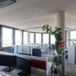 Büroräumlichkeiten in der ÖBB Unternehmenszentrale in Wien