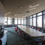Sitzungssaal in der Skylobby der ÖBB Unternehmenszentrale in Wien