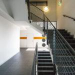 Stiegenhaus im OMV Headoffice in Wien