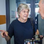 Architekt Dieter Henke während einer Führung im OMV Headoffice in Wien