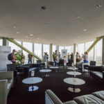 Skylounge des OMV Headoffice in Wien