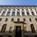 Außenansicht der ehemaligen k. k. priv. Länderbank in Wien