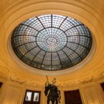 Eingangsbereich mit Vorhalle der ehemaligen k. k. priv. Länderbank in Wien