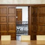 Sitzungssaal in der ehemaligen k. k. priv. Länderbank in Wien