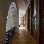 Zugang zu den Büros in der ehemaligen k. k. priv. Länderbank in Wien