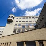 Außenansicht des Umspannwerk Favoriten in Wien