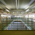 Lagerraum im Umspannwerk Favoriten in Wien (wird als Gefängniskulisse verwendet)