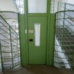 Aufzuganlage und Stiegenhaus im Umspannwerk Favoriten in Wien