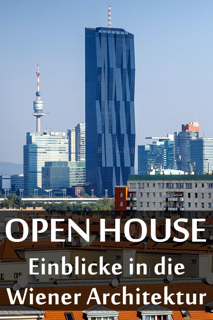 Erfahrungsbericht über Open House Wien mit den Gebäuden Länderbank, OMV Headoffice, ÖBB-Zentrale, Lassallehof, Umspannwerk Favoriten und Kipferlhaus