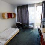 Einzelzimmer im Hotel Central in Pilsen