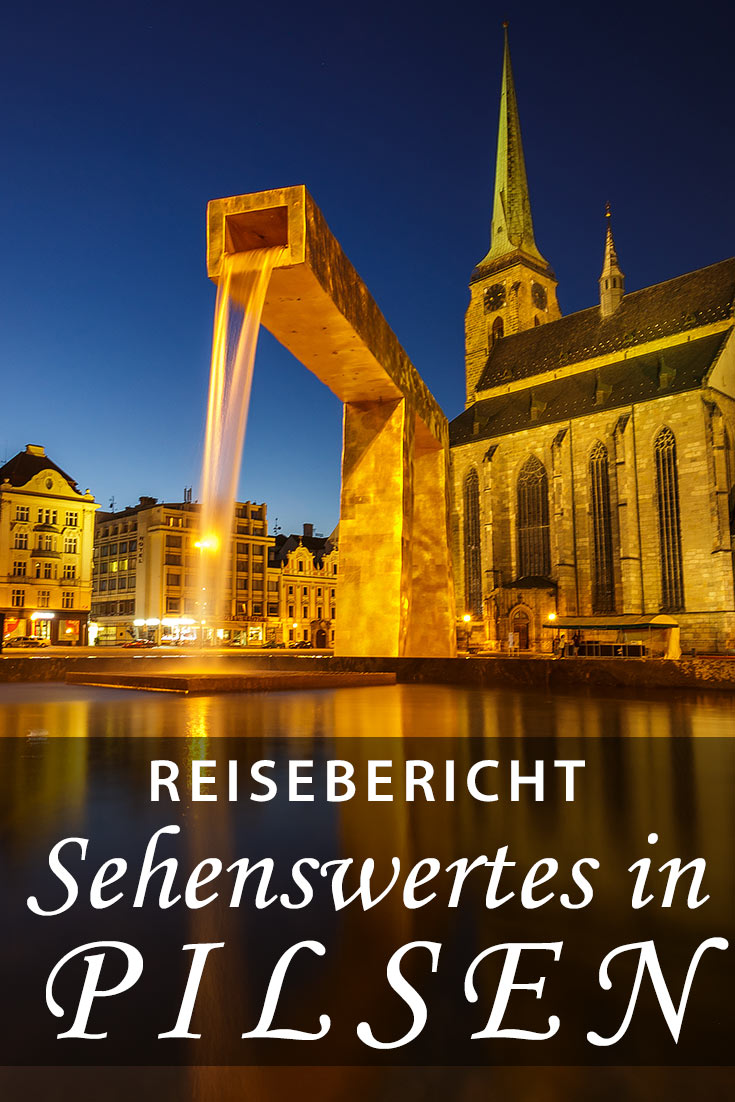 Reisebericht über Pilsen in Tschechien mit Erfahrungen zu Sehenswürdigkeiten, den besten Fotospots sowie allgemeinen Tipps.