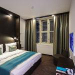 Doppelzimmer im Hotel Motel One Prag