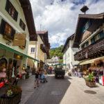 Fußgängerzone in Sankt Wolfgang