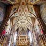 Innenansicht der Pfarrkirche Sankt Wolfgang