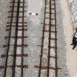 Die Zahnradgleise der Schafbergbahn