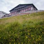 Blick auf das Hotel Schafbergspitze