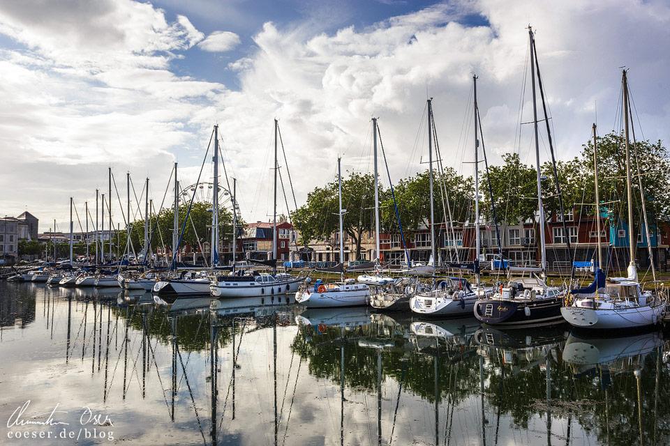 Entfernt erinnert diese Szenerie an Amsterdam