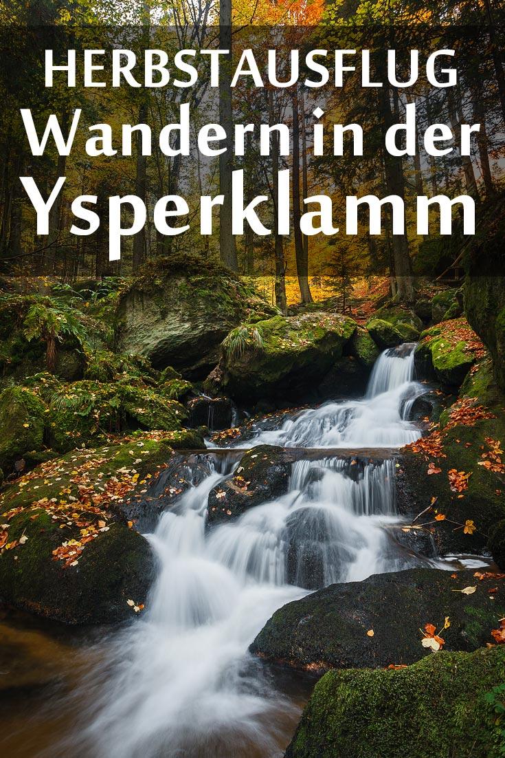 Ysperklamm: Erfahrungsbericht mit den besten Fotospots sowie allgemeinen Tipps für die Wanderung durch die Klamm.