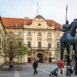 Der Statthalterpalast (Místodržitelský palác)