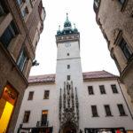 Außenansicht des Alten Rathaus (Stará radnice)