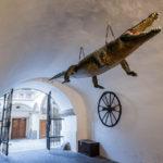 Der Brünner Drache im Alten Rathaus (Stará radnice)