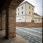 Außenansicht der Festung Spielberg (Špilberk)