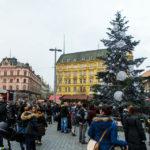 Weihnachtsmarkt auf dem Freiheitsplatz (Náměstí Svobody)