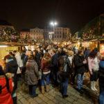 Weihnachtsmarkt auf dem Krautmarkt (Zelný trh)