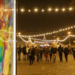 Weihnachtsmarkt im Park Moravské náměsti