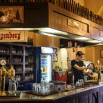 Gaststube der Brauerei Eggenberg