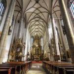 Innenansicht der St.-Veit-Kirche