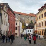 Blick auf das Schloss von der Altstadt aus