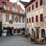 Historische Häuser in der Altstadt
