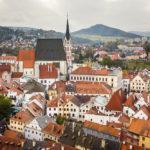 Blick auf die Altstadt vom Schlossturm aus gesehen