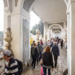 Touristenmassen untertags auf der Mantelbrücke
