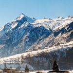 Ausblick auf das Kitzsteinhorn von meinem Zimmer im Tauern Spa Hotel Kaprun