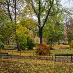 Entspannen kann man sehr gut in der Parkanlage Planty