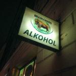 Zahlreiche Shops bieten Alkohol 24 Stunden an