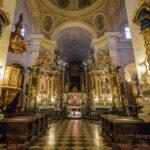 Innenansicht der Bernhardinerkirche
