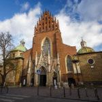 Außenansicht der Dominikanerkirche
