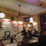 Innenansicht der Bar Pijalnia wódki i piwa auf dem plac Nowy 6