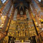 Der berühmte Krakauer Hochaltar des gotischen Bildhauers Veit Stoß in der Marienkirche