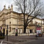 Außenansicht der Tempel-Synagoge