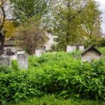 Der älteste jüdische Friedhof Krakaus neben der Remuh-Synagoge