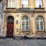 Historisches jüdisches Haus im Stadtteil Kazimierz
