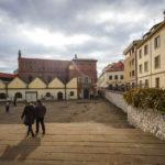 Blick auf die Alte Synagoge, die älteste erhaltene in Polen