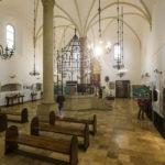 Innenansicht der Alten Synagoge, die älteste erhaltene in Polen